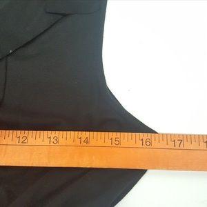 J. Crew Dresses - J.CREW Women's Layered Neckline Black Dress